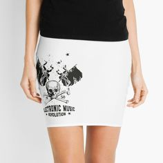 Electronic Music ☆ ELECTRO Music Revolution von Tonony | Redbubble Electro Music, Revolution, Vintage T-shirts, Flower Power, Mini Skirts, Electronics, Fashion, Round Collar Shirt, Musik