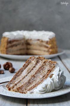 Torte Recepti, Kolaci I Torte, Baking Recipes, Cake Recipes, Dessert Recipes, Bun Cake, Torte Cake, Special Recipes, No Bake Cake