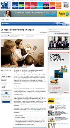 Speaking Agency : 20 minutes.fr, Septembre 2012