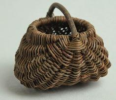 Hjørnholms Pileblog: Småbitte kurve / Tiny baskets