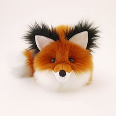 Rupert Rusty Red Fox Stuffed Animal Cute Fox Plush Toy Kawaii Plushie Holiday Gift Fluffy Faux Fur Toy Large Woodland Fox Softie 6x10 Inches by Fuzziggles on Etsy