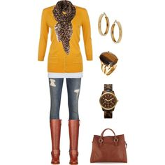 """""""Ready for Fall"""" by d-vinedesigns on Polyvore #fall#fall2013#fallfashion#falloutfit"""