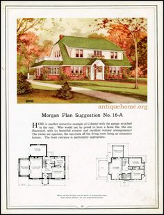 https://flic.kr/p/HPPdgc | Morgan House Plan Suggestions::Building with Assurance | Building with Assurance - 1923 www.antiquehome.org