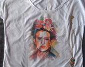 Camiseta FRIDA KAHLO - frete grátis