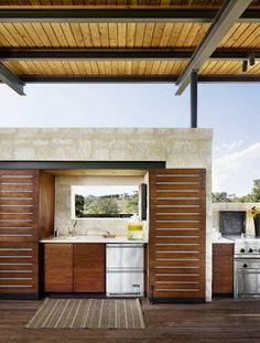 Praktische Küche im Garten gestalten esszimmer auflagen ...