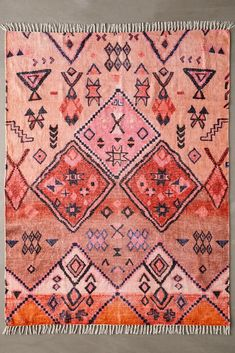 Shop Aziza Printed Chenille Rug at Urban Outfitters today. We carry all the latest styles, colors and brands for you to choose from right here. Jute Rug, Woven Rug, Curtain Patterns, Inexpensive Home Decor, Classic Rugs, Chenille, Shops, Warm Colors, Vibrant Colors