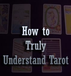Understand what Tarot is actually useful for - many people never get past the misconceptions enough to truly enjoy the amazing self-discovery tool Tarot can be.