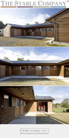 U Shaped Stable in Location: Derbyshire Three stables #stables