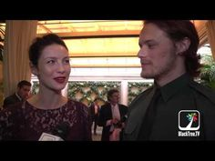 Outlander stars show up at BAFTA Tea Party held in Beverly Hills - YouTube  Nice short interview. They're gonna do a LOT of these...