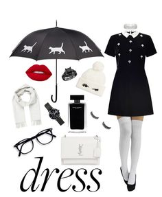 """""""Sugar Baby Vibes"""" by mayacblls on Polyvore featuring Miss Selfridge, Yves Saint Laurent, Brioni, Kate Spade, Red Herring and Narciso Rodriguez"""