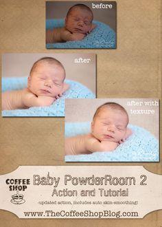 The CoffeeShop Blog: CoffeeShop Baby PowderRoom 2 Action and Tutorial: Part 2!