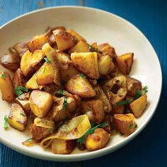 Pimenton, or smoked paprika, gives these potatoes an unexpected flavor. Any of the several varieties of the spice -- ranging from sweet to hot -- will work well, so take your pick.