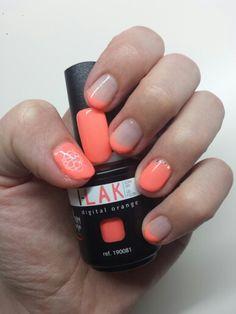 "I-LAK ""Digital Orange 190081"" Peggy Sage ! By Aline Louvradoux"