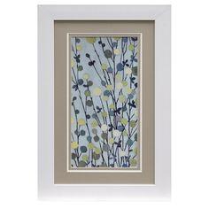 Framed Print Under Glass of Mandarws I by Style Craft