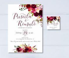 Convite Casamento - Digital