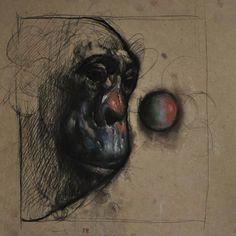 Disfraz - http://redarte.com.ar/2013/08/disfraz/ #RedArte #Art #Arte #Pintura