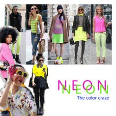 Neon The color craze