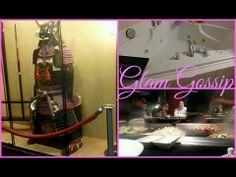 Chopsticks & Sake....Glam Gossip Vlog February 28, 2014