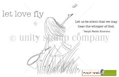 Unity Stamp Co. - Phyllis Harris - {Let Love Fly}  http://www.unitystampco.com