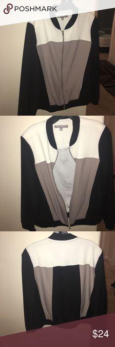 Bomber jacket Light weight bomber jacket NY Collection Jackets & Coats
