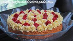 tarte aus fraises, sablé breton