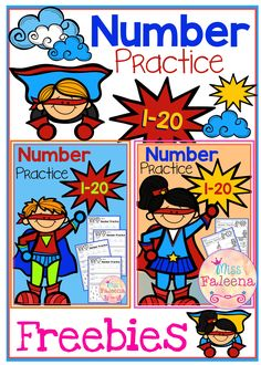 "This product is great for pre-k, kindergarten and first grade students. It will help children to master numbers from 1 to 20 in a many different ways. Children will learn numeral tracing, writing, coloring, drawing, tallying, finger counting, number words, finding, number sequencing, and adding. Also every time they finish a worksheet, they will be rewarded with ""I know the number"" bracelet."