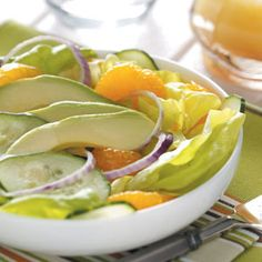 Southwest Salad Recipe from Taste of Home :: shared by Sharon Evans of Clear Lake, Iowa :: http://pinterest.com/taste_of_home/