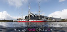 It's Why We ♥ Glasgow Wednesday so this week we're sharing a beautiful shot of the Riverside Museum featuring a cameo from the Tall Ship! :) ⛵  Find out more about Glasgow's Museums and Galleries here:  https://peoplemakeglasgow.com/things-to-do/museums-galleries