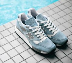 New Balance 998-Pool Blue