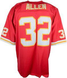 Mitchell   Ness Men s Marcus Allen Kansas City Chiefs Replica Throwback  Jersey - Red S 27557aabb