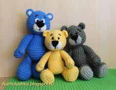 Игрушки от Кумутушки: Медвежонок (описание)