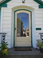 1000 images about screen doors windows on pinterest for Door and screen door combo
