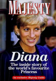 """Diana, Princess of Wales on cover of """"Majesty"""" magazine. Princess Diana Family, Royal Princess, Princess Of Wales, Unhappy Marriage, Hm The Queen, Lady Diana Spencer, Thing 1, Glamour, All Family"""