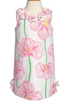 Lilly+Pulitzer®+'Little+Lilly'+Shift+Dress+(Little+Girls+&+Big+Girls)+available+at+#Nordstrom