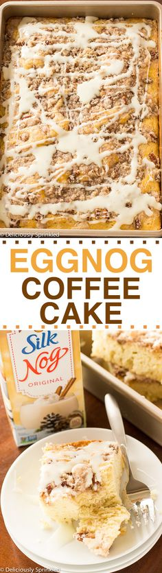 I did make this and tried it. Really how do you screw up cake? But it's good.-AZ Eggnog Coffee Cake