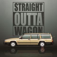 VOLVO 745 1985-1992 1993 1994 1995 1996 WAGON CAR COVER