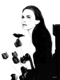 Annabel Lee, cassandra clare, shadowhunters, lordofshadow by claudia simbula