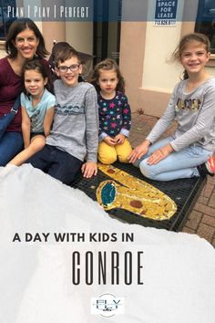 Create a fun-filled day in Conroe Texas for the whole family. you will love the food, fun and features to be found in this town.