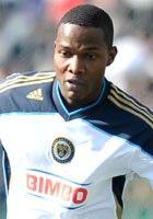 Philadelphia Union - Danny Mwanga. First overall draft pick and Union's first ever draft pick.