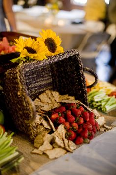 Fresh fruit should always be apart of every catering event, especially summer events here in Orlando. Chef Eddies Restaurant - Catering - http://www.bestorlandosoulfood.com/white-diamond-ultimate-wedding-package