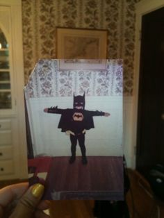 Come on, Robin, to the Bat Cave! There's not a moment to lose!