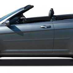 "fits 2008-2014 Dodge Avenger 4Pc Flat Body Side Molding Trim 1/""Stainless Steel"