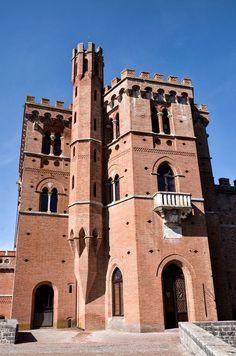 Castello di Brolio (Gaiole in Chianti). Foto di Sergio Visone.