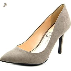 Jessica Simpson Lory Women US 6 Gray Heels - Jessica simpson pumps for women (*Amazon Partner-Link)