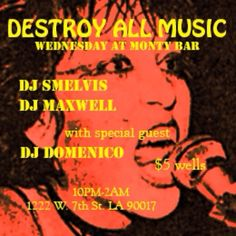 FIDLAR crew hold it down tonight on the decks with special guest Domenico from KXLU Los Angeles 88.9 FM. At 10, no cover!