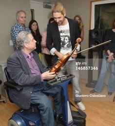 Itzhak Perlman and David Garrett - June 6, 2012 in New York City. (Photo by Gustavo Caballero/Getty Images)