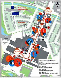 Koningswandeling door Amstelveen 2014