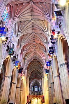National Cathedral, Washington, DC  By Kelli Campbel
