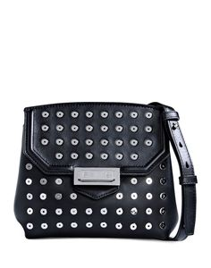 e491740f12 Alexander Wang Marion Black Leather Crossbody Leather Crossbody