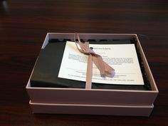 glossy box this is such a great idea. Great gift item.